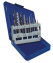 10 pc Screw Extractor & Cobalt Drill Set