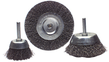 Mounted Cup and Wheel Wire Brush Assortment