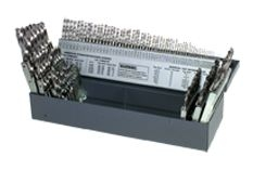 115 pc High Speed Steel Jobber Drill Set