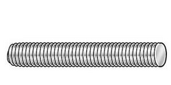 M10 18-8 Stainless Steel Metric Threaded Rod ssf10mm-1.5