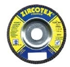 Z4500FH Zircotex Flexovit Flap Discs 4 1/2