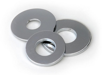 Stainless Steel Flat Washers - 3/8