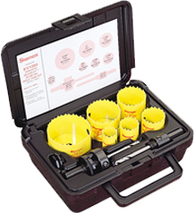 Electrical Fastcut Bi-Metal Holesaw Kit