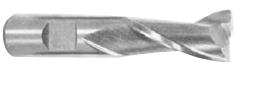 End Mills: Single End - 1-1/2X1-1/4 HS2FL USA Made