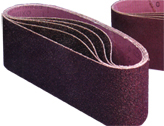 Aluminum Oxide Resin Cloth Abrasive Belts - Belt Size: 4
