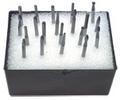 20 pc Solid Carbide Burr Set - 1/8