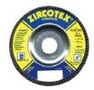 Image Zircotex Flap Discs for Metal, Stainless, and Aluminum - Flexovit