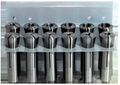 13 Piece R8 Collet Set with Stand